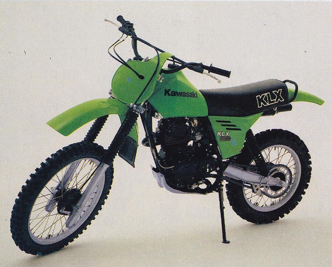 Kawasaki Klx 250cc 1979 Motocross Bikes Vintage Motocross Kawasaki Bikes