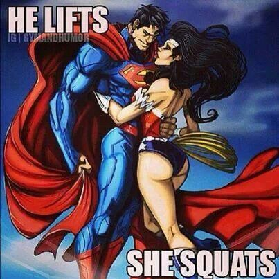 Image result for Jacked Superman With Wonder Woman