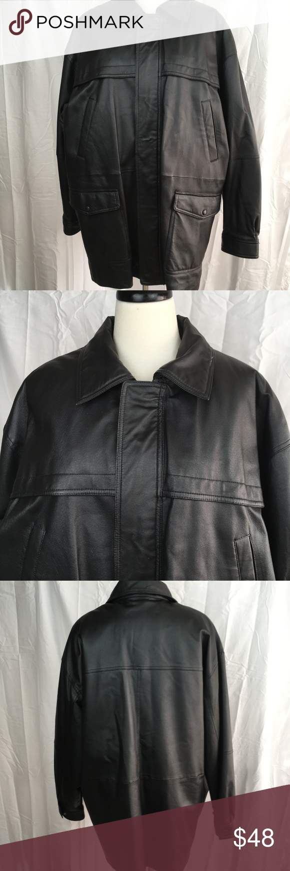 Wilsons Leather Jacket Womens Plus Size 1X Wilson's