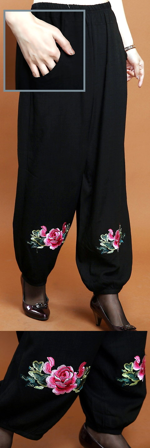 Mudan Peony Embroidery Pants (RM) More sewing inspiration.