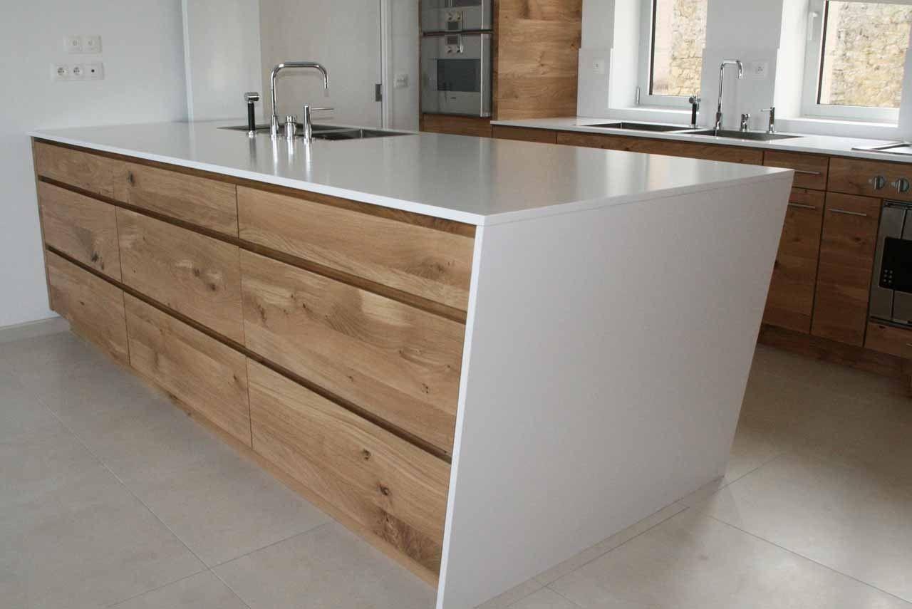 Agencement cuisiniste cuisine sur mesure bois massif brut for Meuble artcopi manufacture