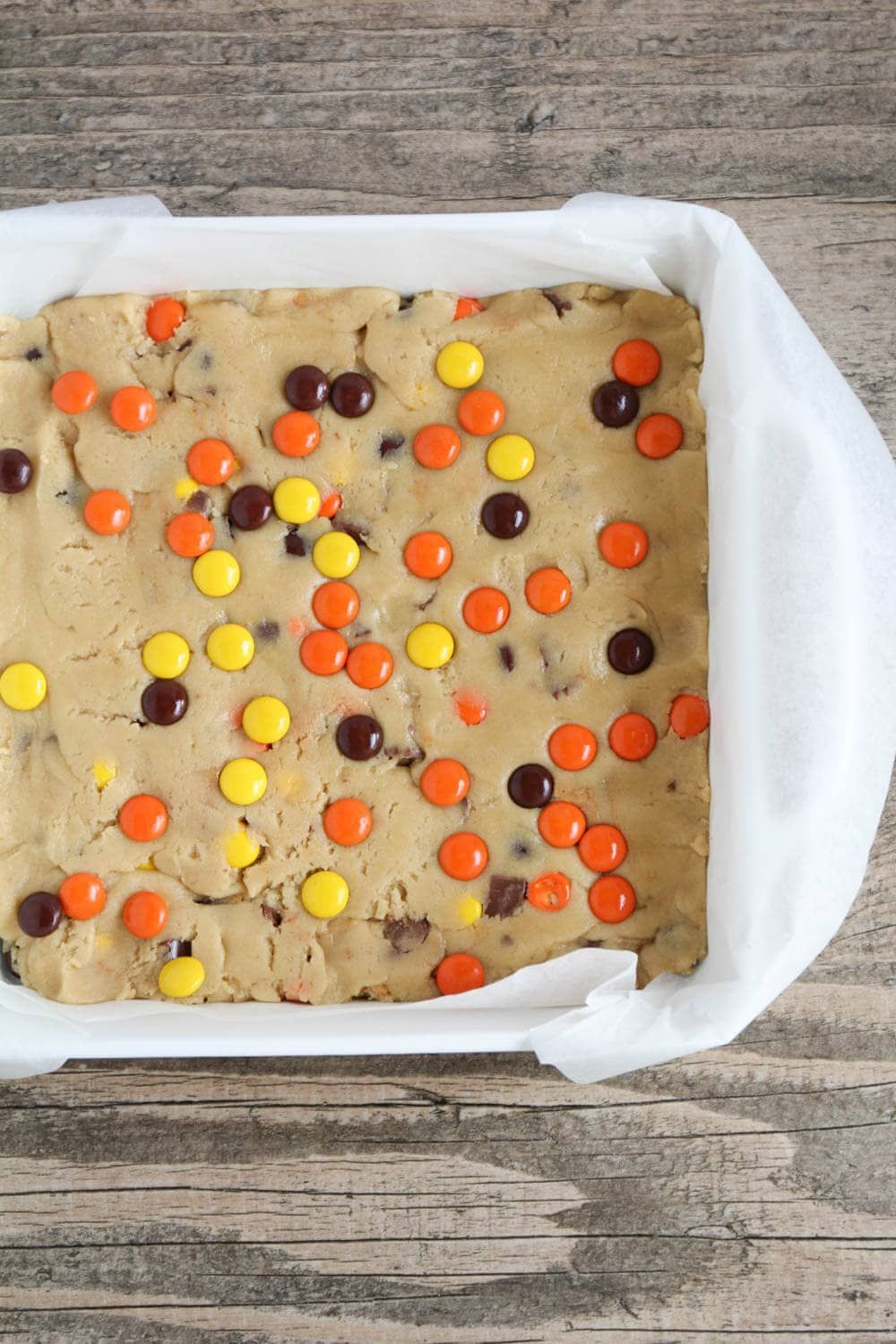 Reeses pieces blondies i heart nap time easy peanut