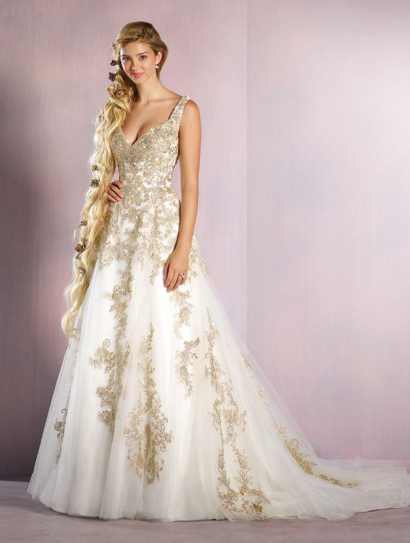 Wedding Gown Gallery Disney Inspired Wedding Dresses Disney Princess Wedding Dresses Rapunzel Wedding Dress [ 1059 x 800 Pixel ]