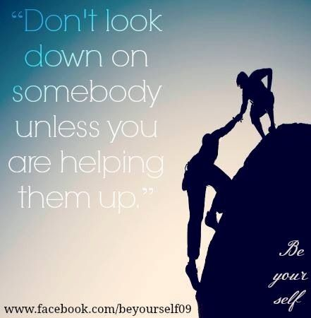 Quotes About Helping Others Helping Others Quote Via Www.facebookbeyourself09  Quotes .