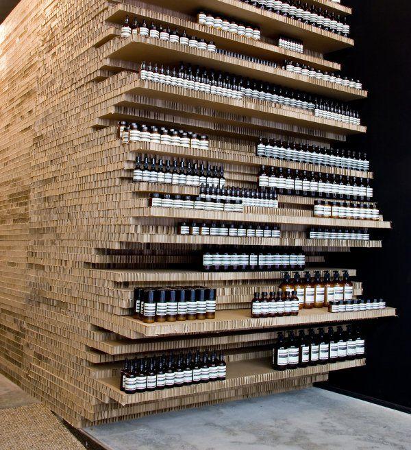 Australie : la boutique Aesop Flinders Lane