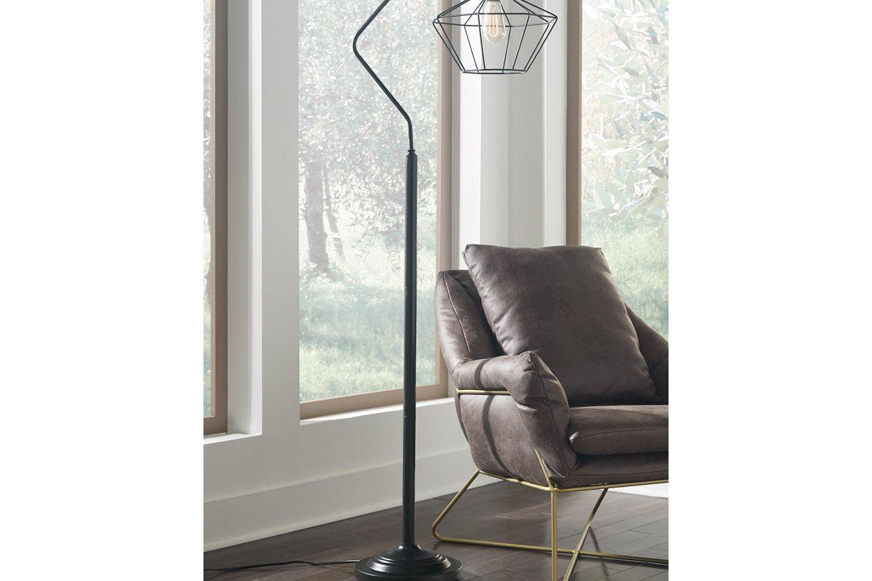 Makeika Floor Lamp Ashley Furniture Homestore Black Floor Lamp