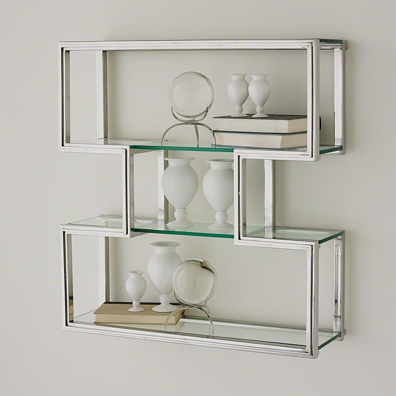 Silver Wall Shelves Wall Shelves Glass Wall Shelves Glass Shelves