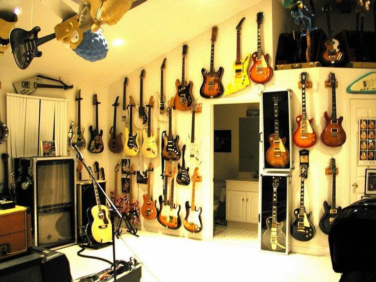 Man Cave Ideas Music : Man cave post your guitar rooms page harmony central