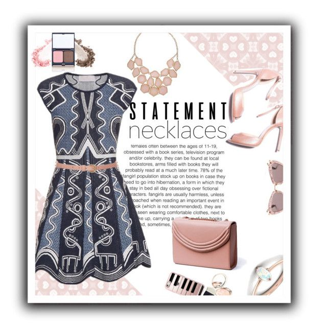 """""""statement necklaces"""" by emcf3548 ❤ liked on Polyvore featuring Peter Pilotto, Topshop, Lauren Cecchi, By Terry, Casetify, Miu Miu, Kevyn Aucoin and statementnecklaces"""