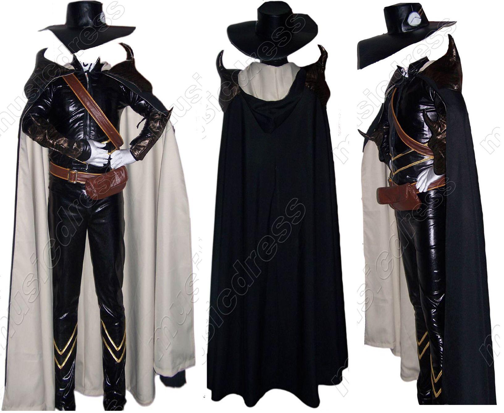 vampire hunter d costume vampire hunter d cosplay