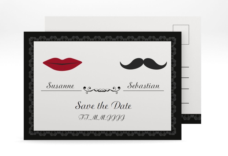 Save the date postkarte montpellier a6 postkarte