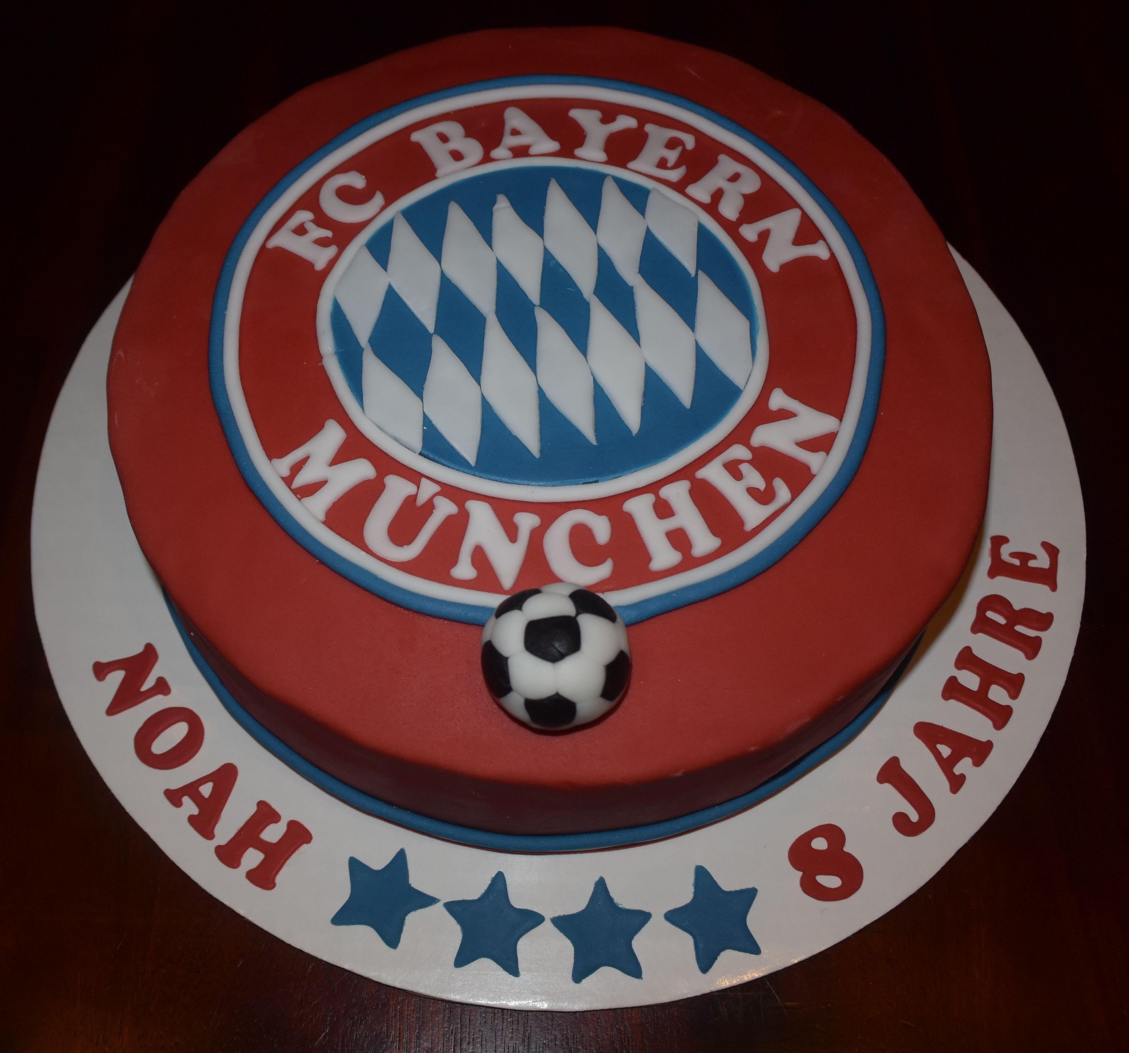 Bayern München Cake Bayern München Torte Fußball torte