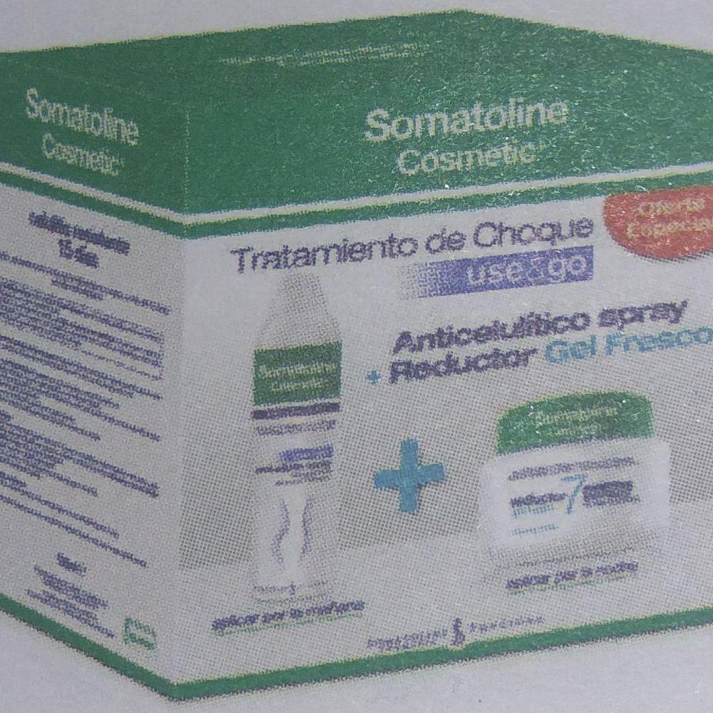 Anticelulitico Spray Y Reductor 7 Noches Somatoline Reductor 7