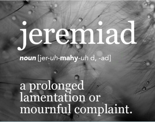 examples of jeremiads