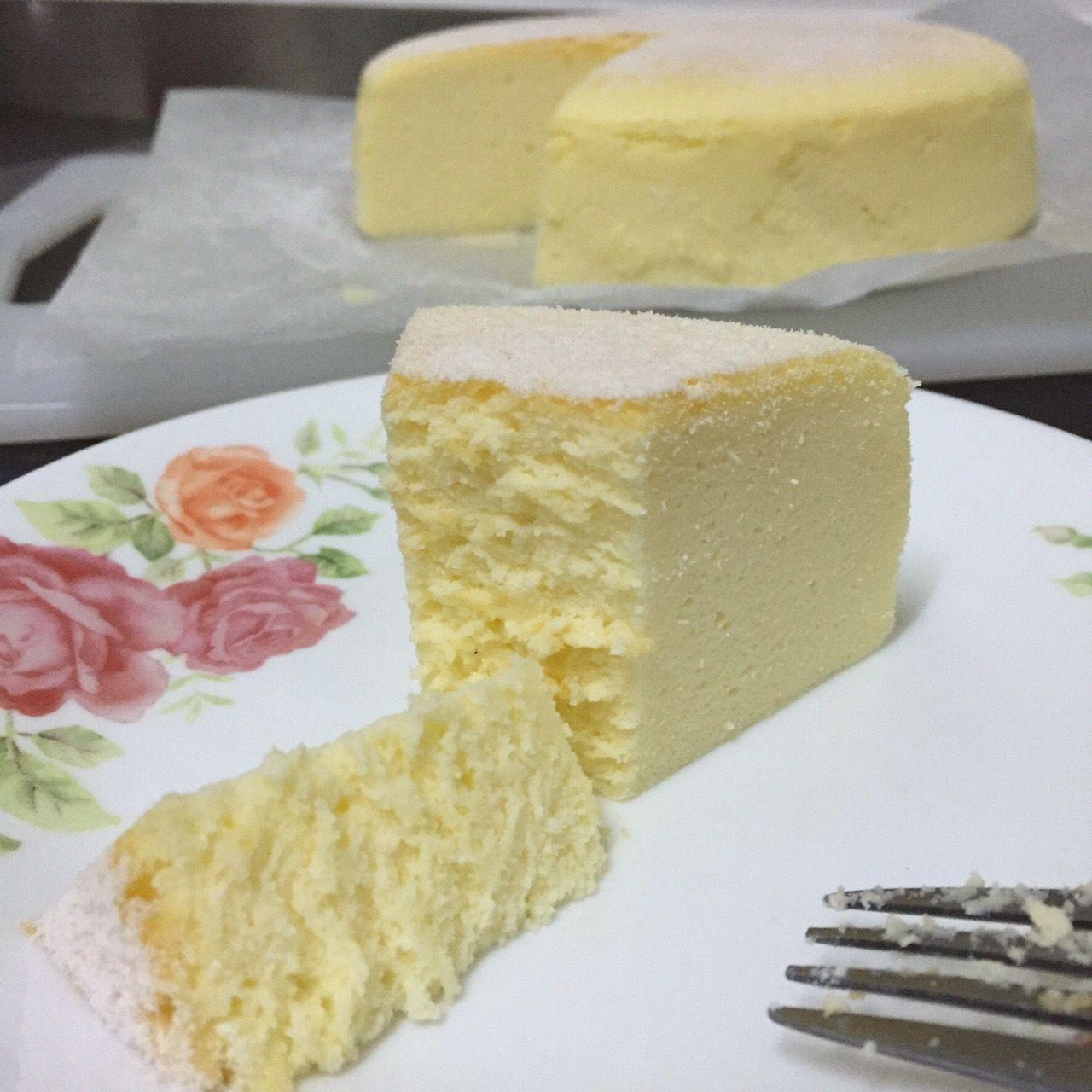 Hanjuku  (half baked) Cheesecake