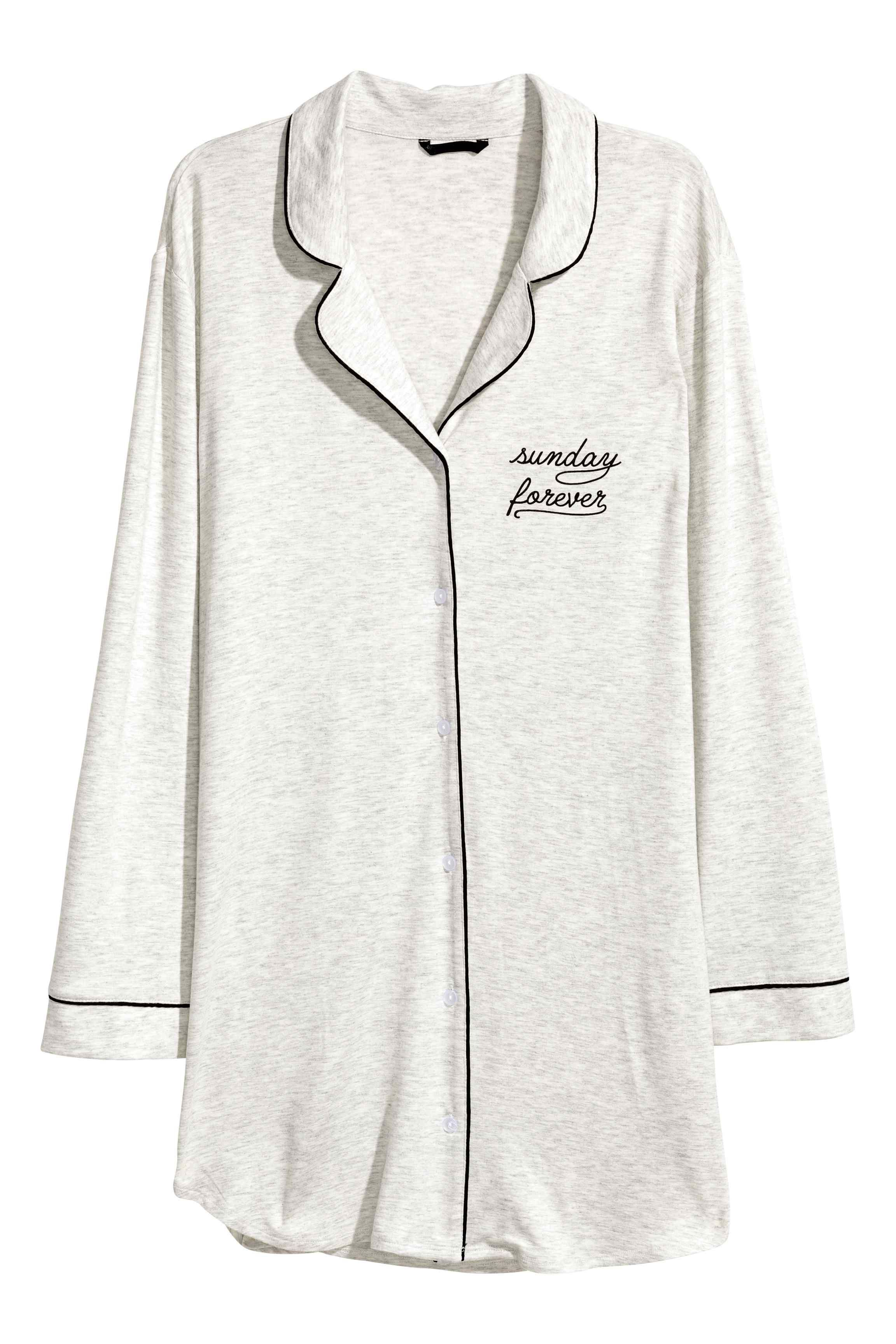 économiser 24522 6b859 Chemise de nuit en jersey | Pijamas in 2019 | Lounge wear ...