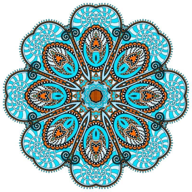 Stock vector of 39 mandala circle decorative spiritual - Tappeto mandala ...
