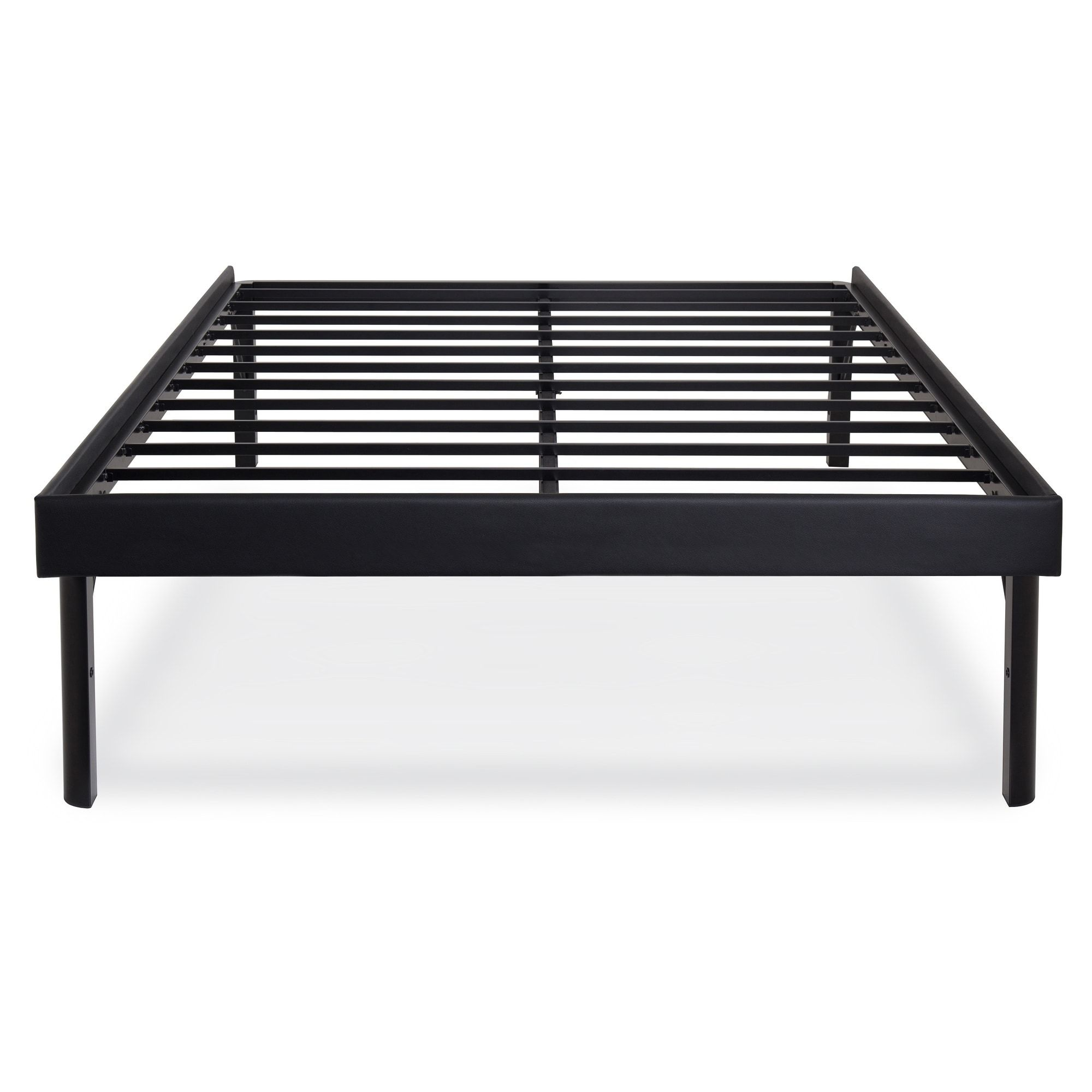Queen Size Heavy Duty Metal Platform Bed Frame Holds Up To 2 000 Lbs Stuff To Buy Pinterest Bed Frame Platform Bed Frame And Metal Platform Bed