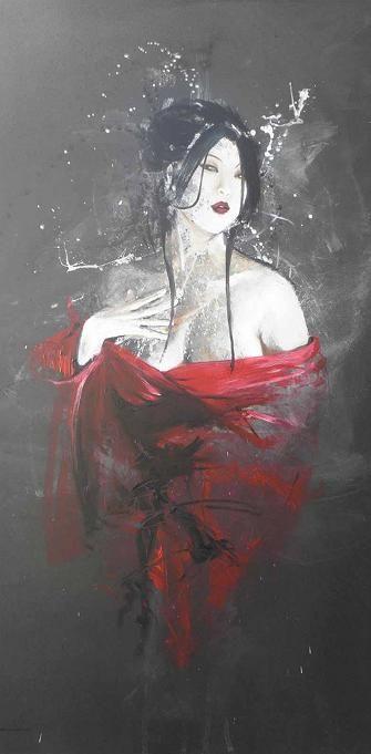 Geisha I - Cedrio Cazal