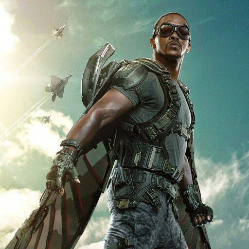 Falcon | Captain america winter soldier, Falcon marvel ...
