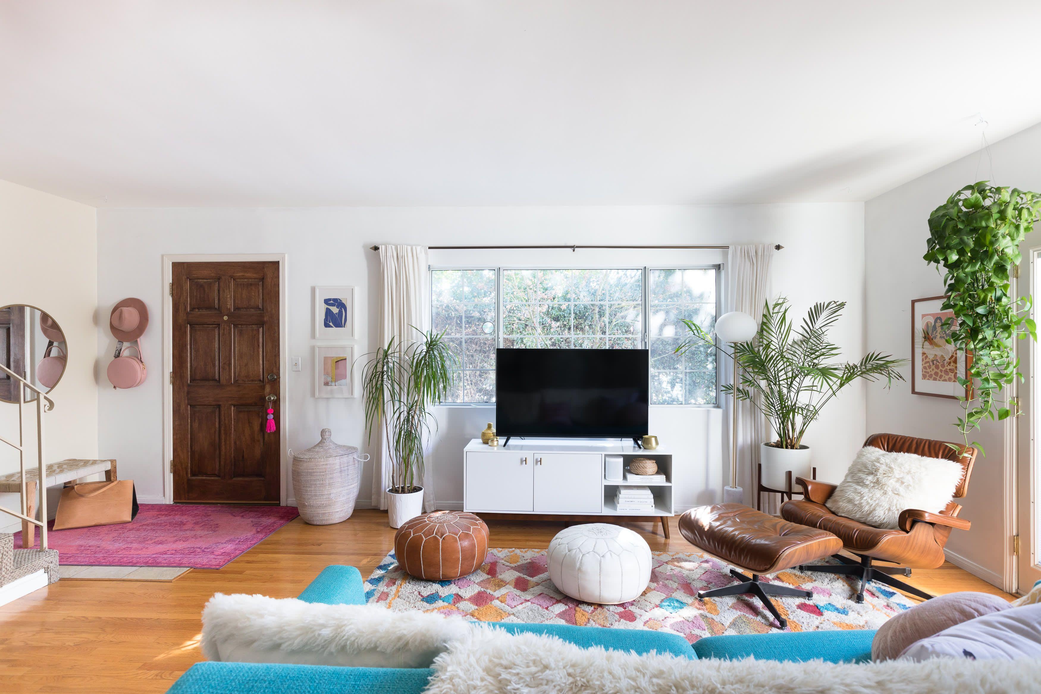 A Cheery L.A. Rental Has a Cute DIY Yard Inspired by Mexico ...