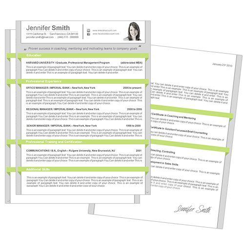 CV template | Blogs & websites I love | Pinterest
