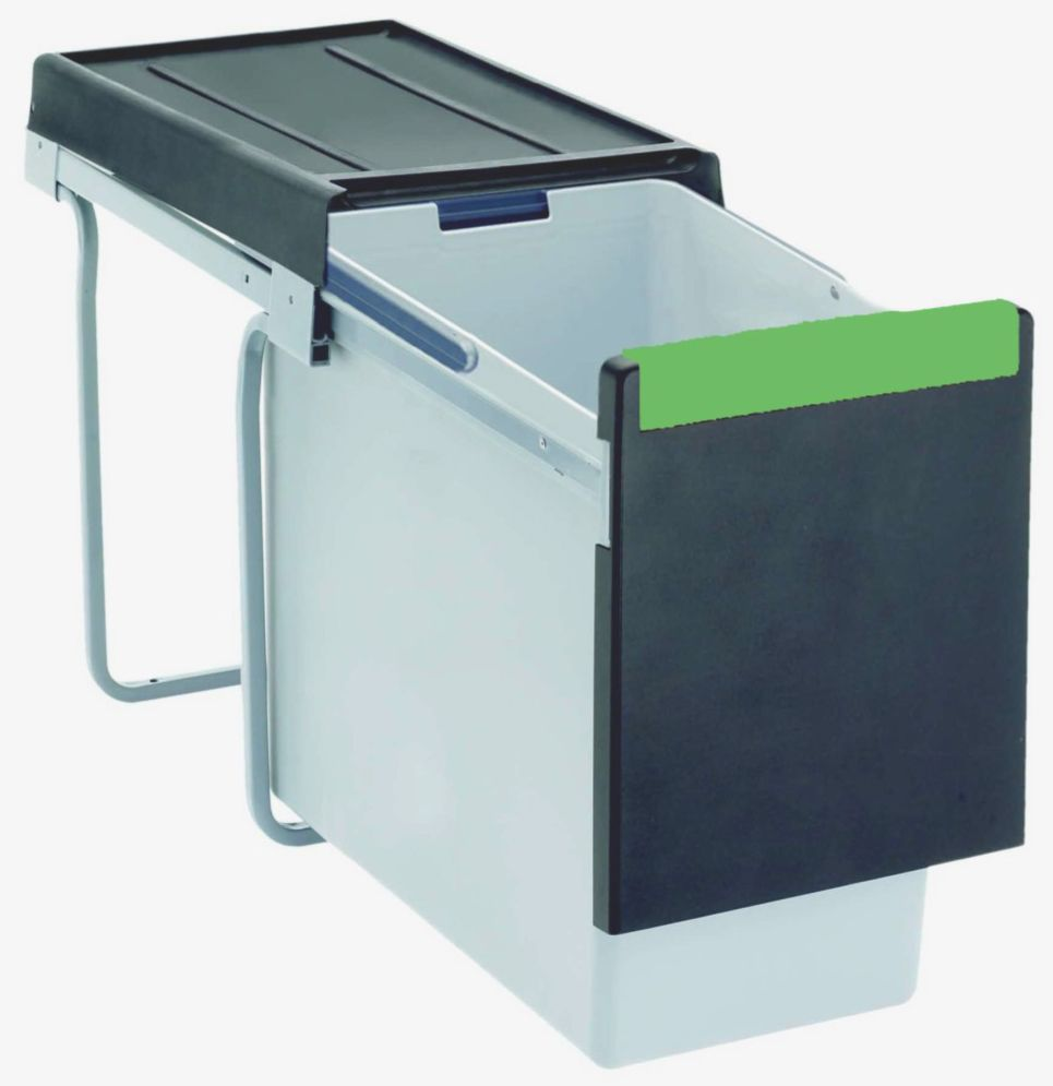 I520 Series 30 Litre Waste Bin Pull Out System - Kitchen Cabinets ...