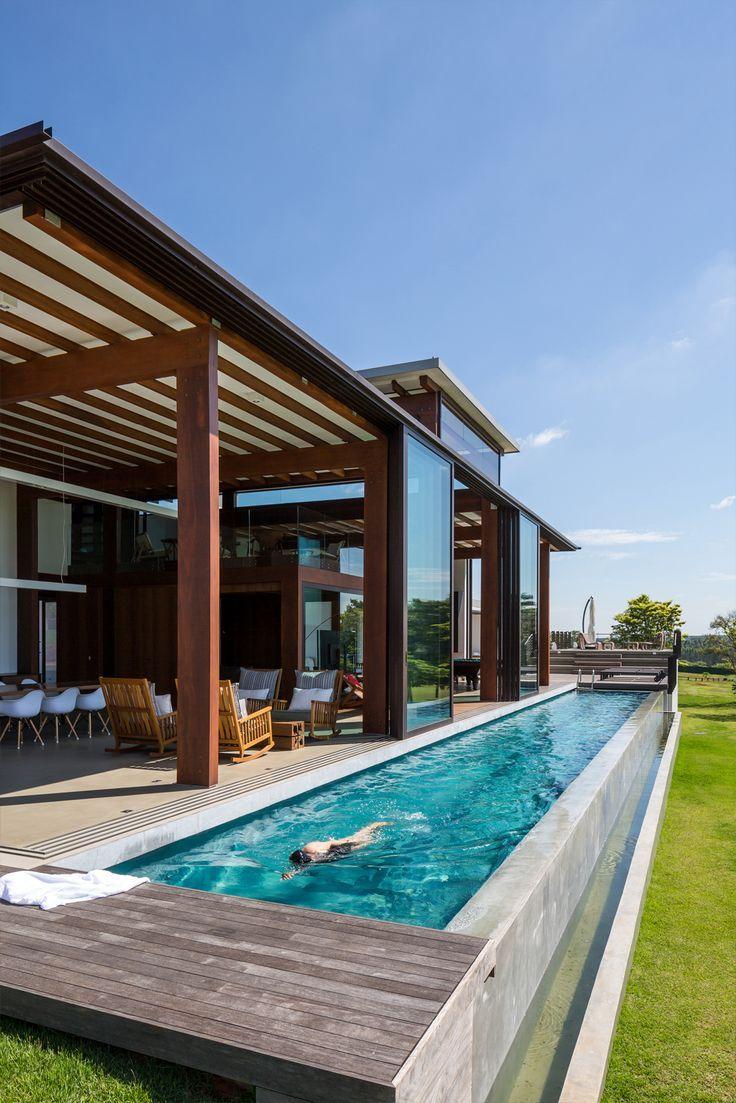 Casa ACP - Candida Tabet Arquitetura e Orbital Estruturas de Madeira www.orbitalestruturas.com.br #casa