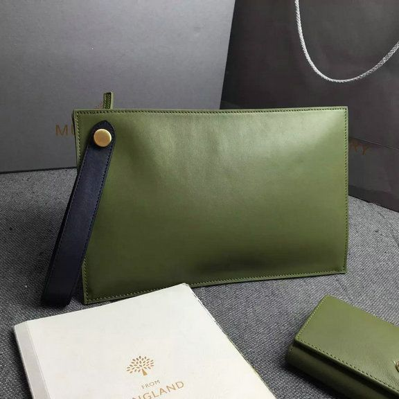 ... new zealand 2016 spring mulberry small kite clutch bag in khaki  midnight flat calf leather 2c3b3 bbe346c3e39ec