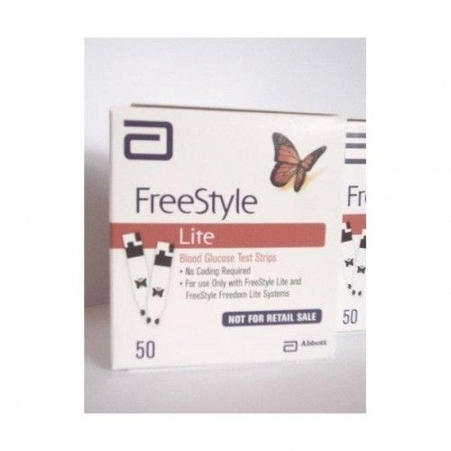 Shop freestyle lite blood glucose test strips new butterfly design 1 shop freestyle lite blood glucose test strips new butterfly design 1 box of 50 at best prices aloadofball Choice Image