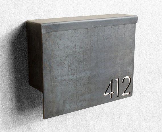 The Gibson Mailbox Custom Steel Modern Metal Letter Box