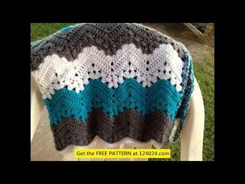 Crochet 6-Day Kid Blanket Free Pattern - YouTube | Crochet Projects ...