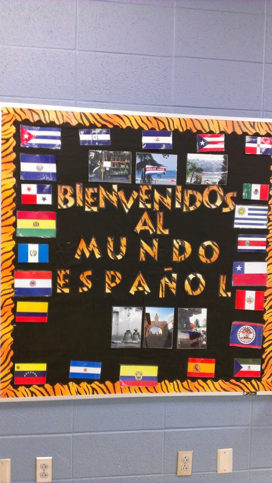 Tales from  spanish teacher teaching new hs uno game idea also best school images class bulletin boards rh pinterest