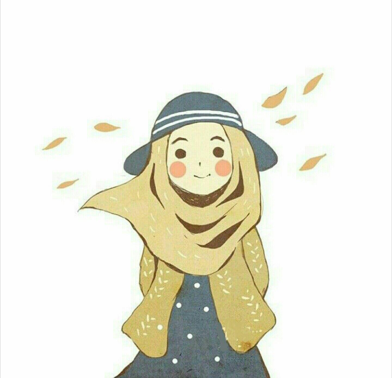 İslamic anime ve tesettür Çizimler, Sevimli karikatür