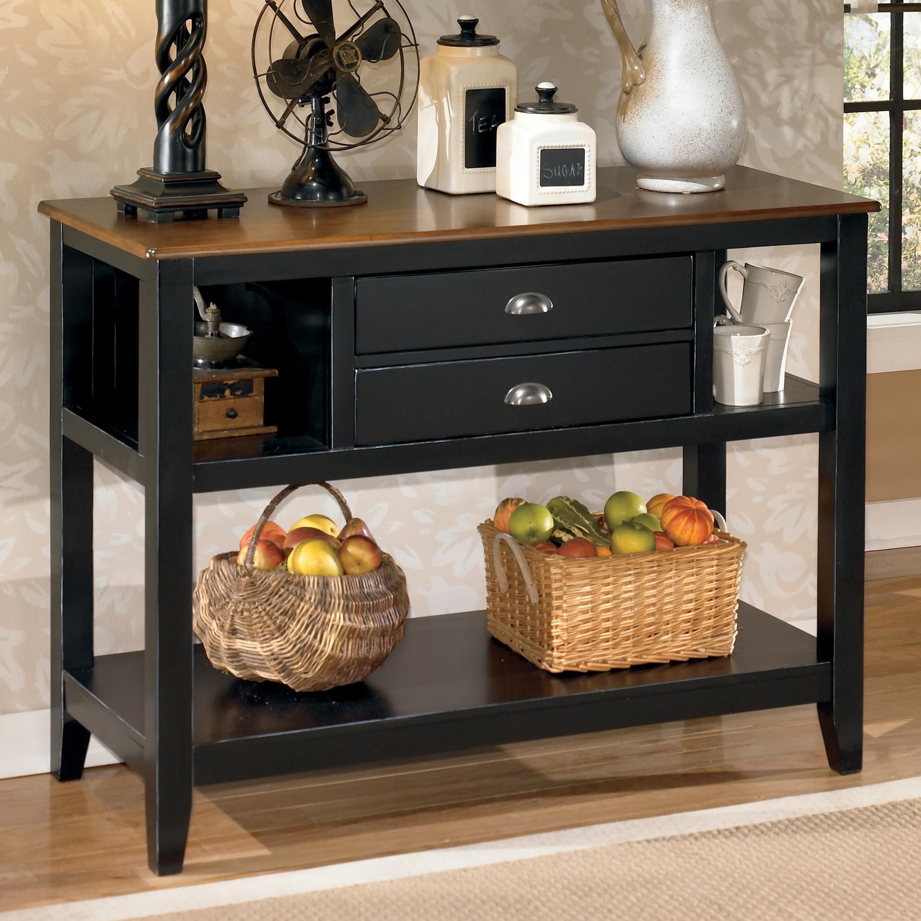 Signature Design by Ashley Owingsville Dining Room Server | Moore\'s ...