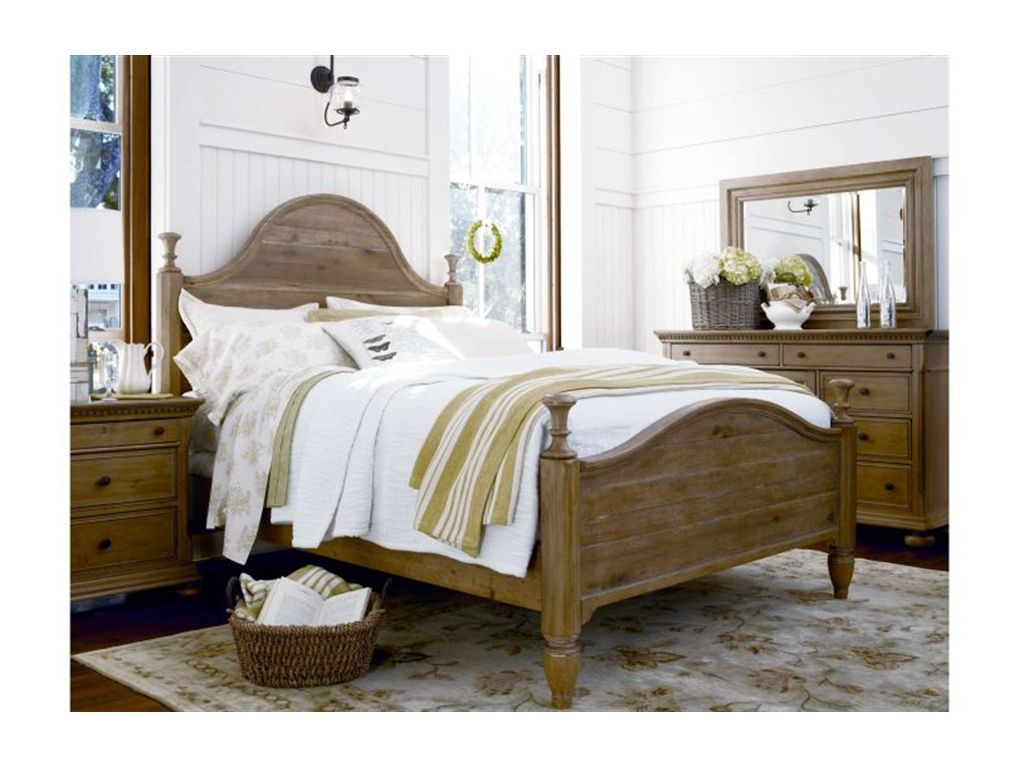 Paula Deen by Universal Bedroom Down Home Bed, 6/0 King | Home Decor ...