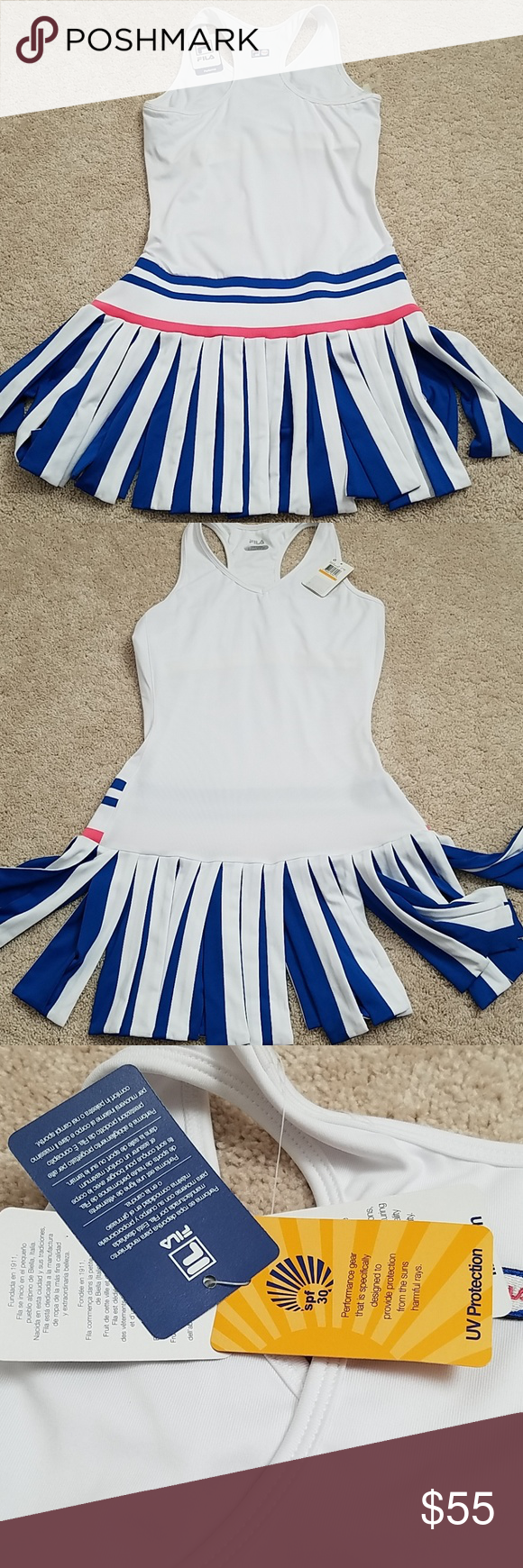 47bad87e9d2 Fila Heritage tennis dress Rare Fila Heritage tennis dress