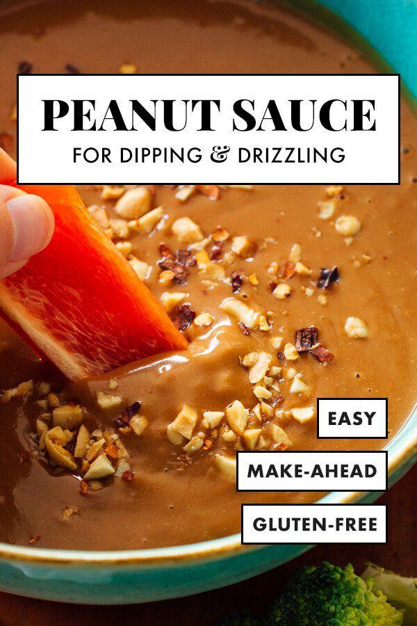 Peanut Dipping Sauce #peanutrecipes