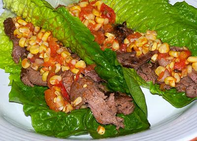 Wow! This recipe for venison lettuce wraps with fresh corn salsa looks so good you'll be ready to eat them all summer!