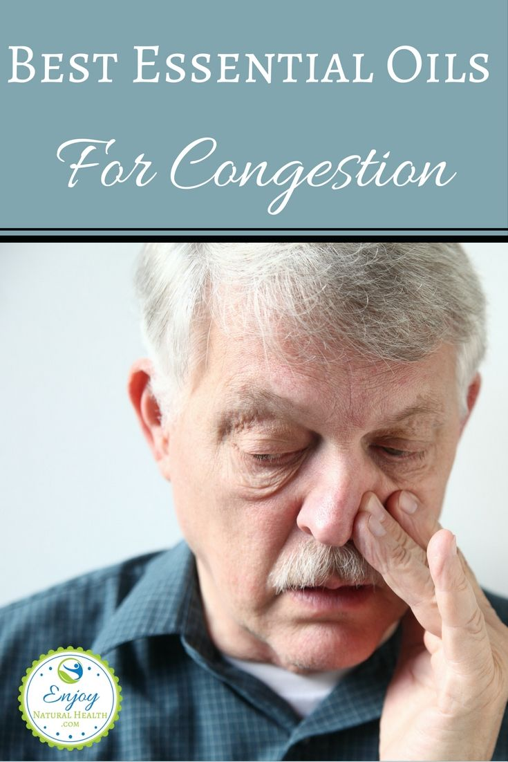 5 essential oils for congestion recipes to relieve a stuffy nose