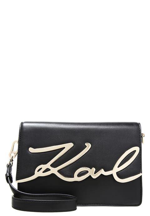 Karl Lagerfeld Sac Bandouliere Black Zalando Fr Sac Bandouliere Sac A Main Sac
