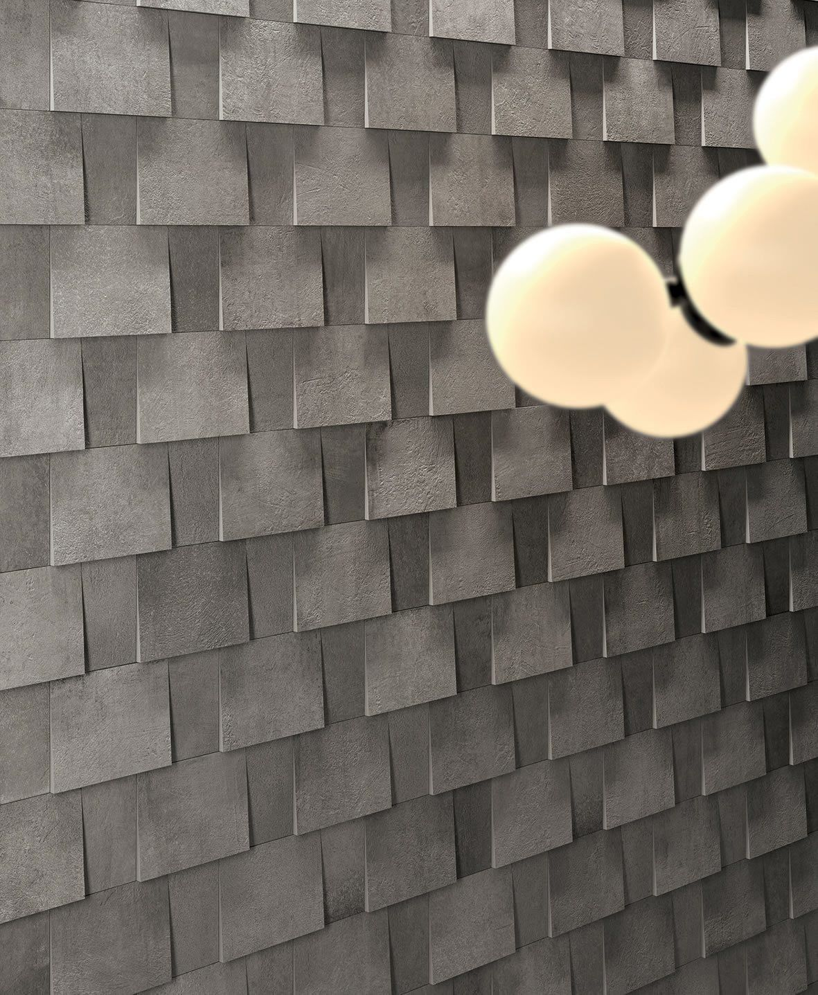 Kronos Prima Materia Sandalo Muro 3d 29x29 Cm 8193