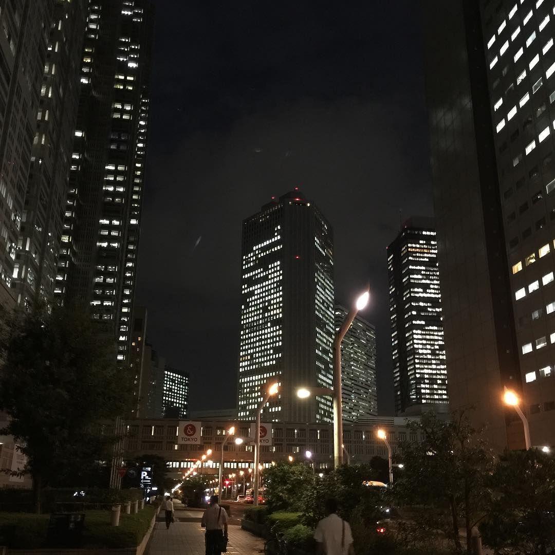 Fantastic night lights of Shinjuku's business district. --- #japan #tokyo #awesome #nightlife #cityscape #skyscrapers #japanese #shinjuku #business #tgif #travel #photography #explore #pic #photo #image #night #nightsky #urban #fantastic #sonyalpha #adventure