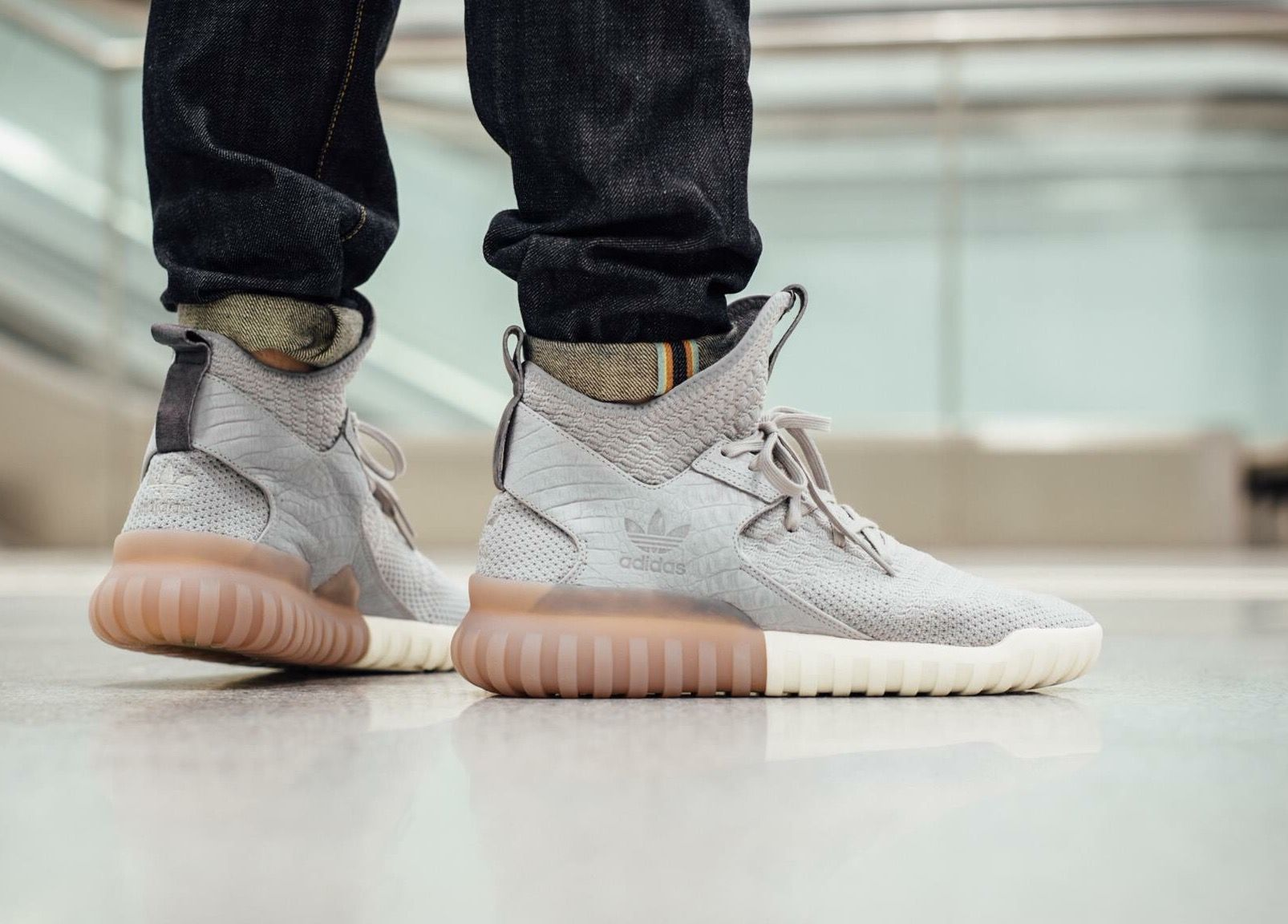 adidas Originals Tubular x PK Women Gray
