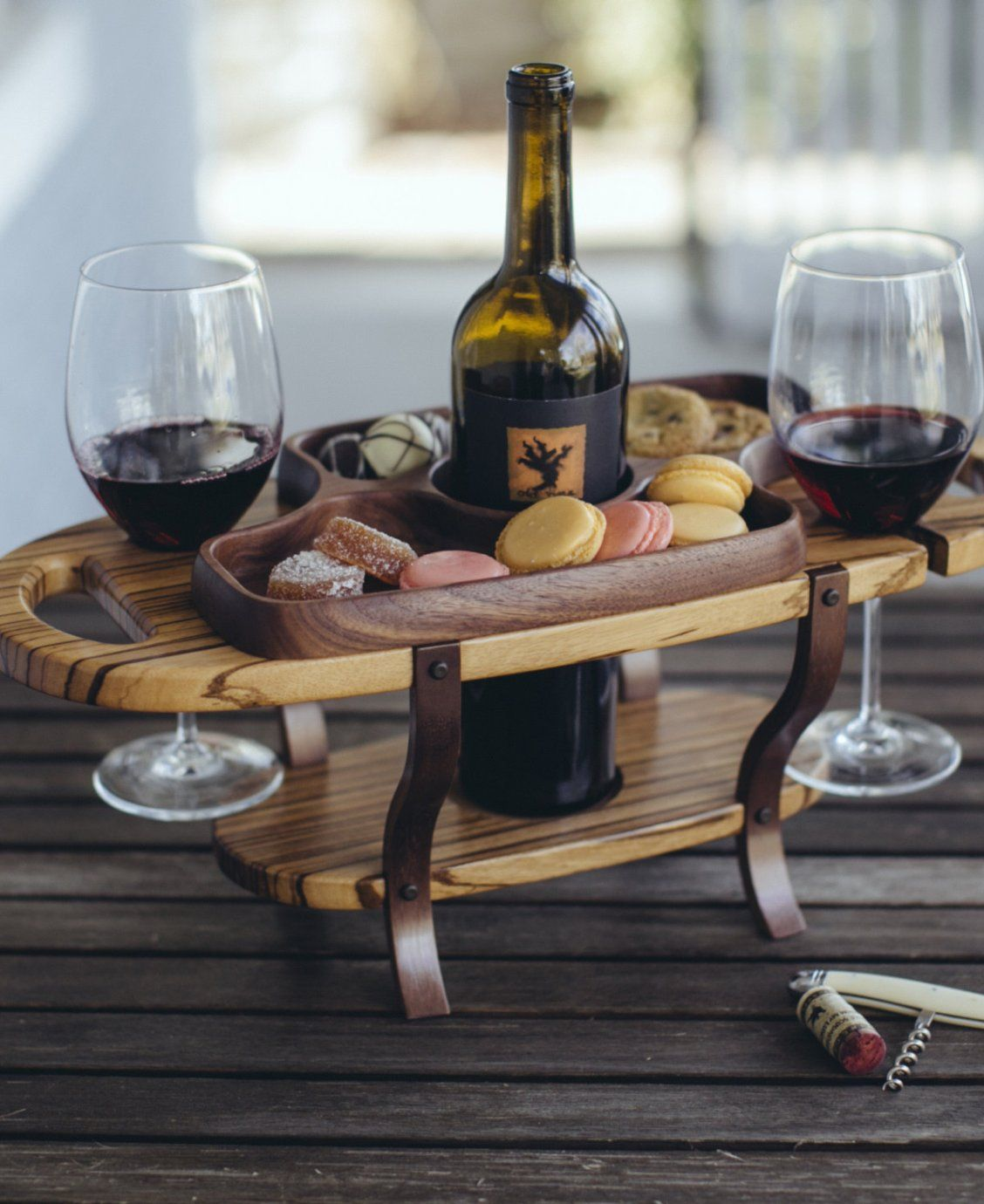 Wine Holder Ideas Have Caddy Will Bring Wine One Of A Kind Gift Ideas