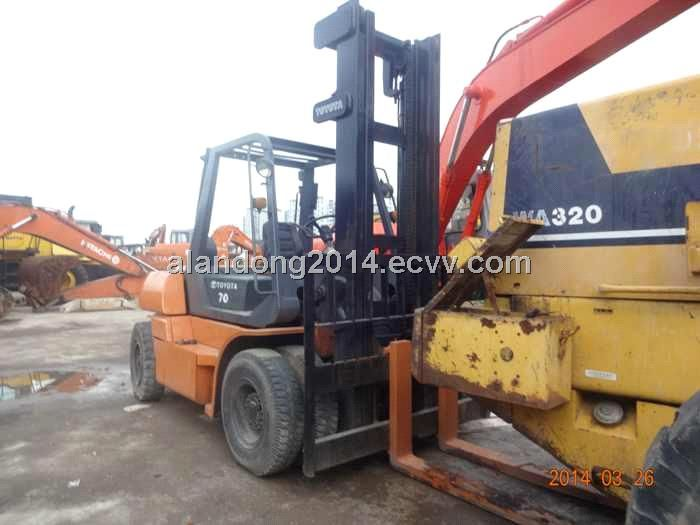 Used Toyota forklift 5FD 70 price (3T) - China Used Toyota
