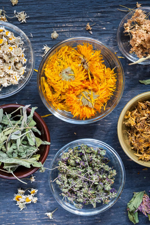 Calendula Flowers, Organic Natural Herb, Herbal Tea