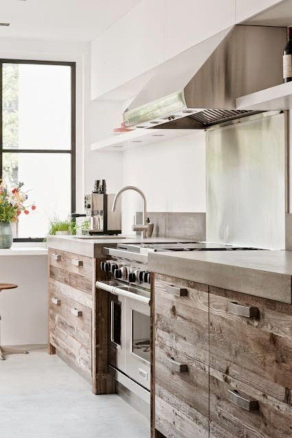 brilliant modern rustic kitchen decor ideas modern rustic