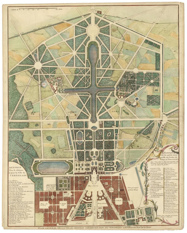 Gardens Of Versailles Plan 6