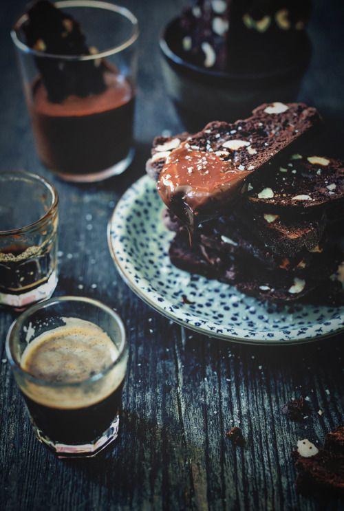 Espresso and Chocolate Biscotti
